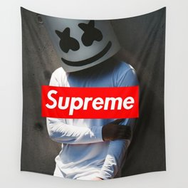 Marshmallow Supreme Wall Tapestry