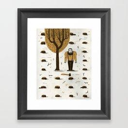 The Woodsman Framed Art Print