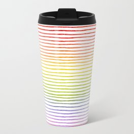 more rainbows please Travel Mug