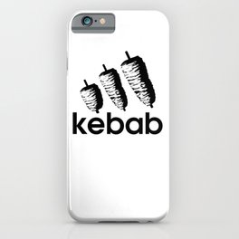 Funny Kebab iPhone Case