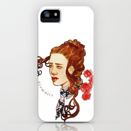 Prouvaire  iPhone Case