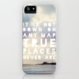 Maps(2) iPhone Case