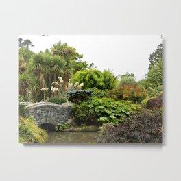 Dunedin Botanic Garden (New Zealand Collection) Metal Print