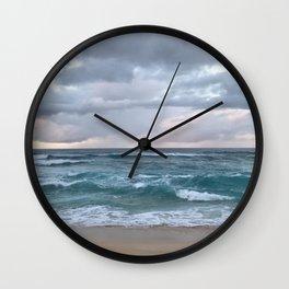 horizon in paradise Wall Clock