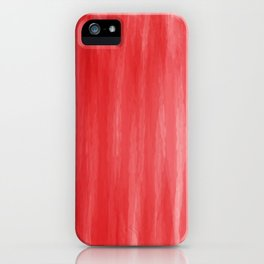 Red- ombre watercolor pattern! iPhone Case