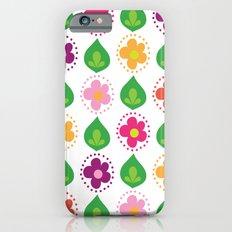 retro summer print iPhone 6s Slim Case
