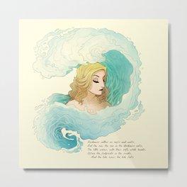 The Tide Rises, The Tide Falls Metal Print