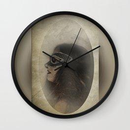 Mascarade Wall Clock