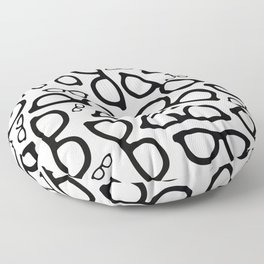 Smart Glasses Pattern Floor Pillow