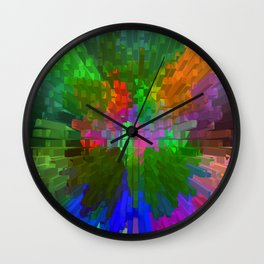 Spring Popping out of the city... Wall Clock