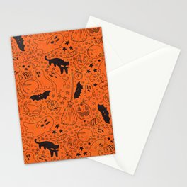 Halloween Party Stationery Cards