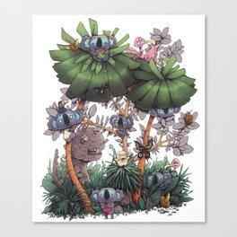 The Kiwis and Koalas Canvas Print