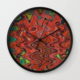 391 - Abstract Colour Design Wall Clock