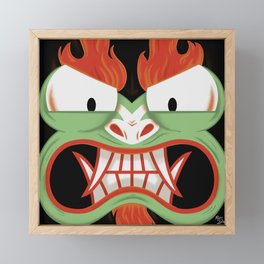 Samurai Jack - AKU Framed Mini Art Print