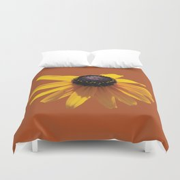 Rudbeckia Orange Duvet Cover