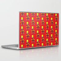 simpson Laptop & iPad Skins featuring Bart Simpson by GOONS