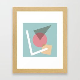 Imperfect Geometries #3 Framed Art Print