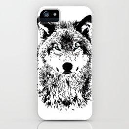 Wolf Eyes iPhone Case