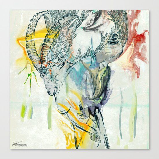 Omana Canvas Print