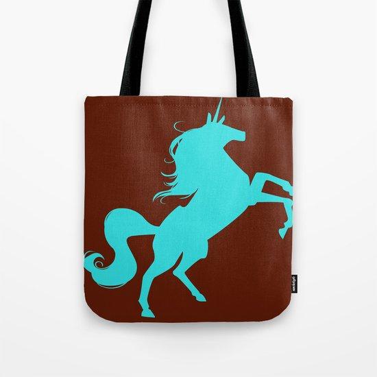 unity university unicorns (cyan) Tote Bag