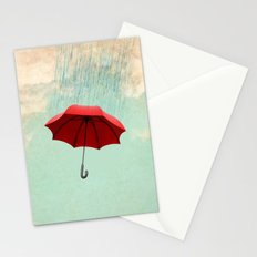 Chasing clouds Stationery Cards