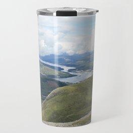 A Scottish panorama from Ben Nevis Travel Mug