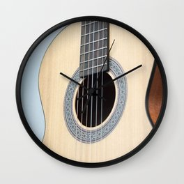 Classical Guitar Wall Clock