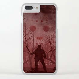 Friday The 13th Clear iPhone Case