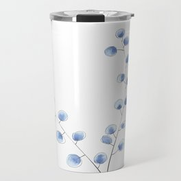 Eucalyptus II - Blue Travel Mug