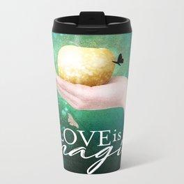 Love is Magic Metal Travel Mug