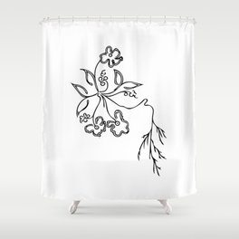 Flowers #3 Shower Curtain