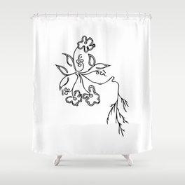 Flowers #3 Shower Curtain