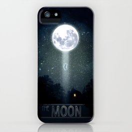 The Moon and The Boy iPhone Case