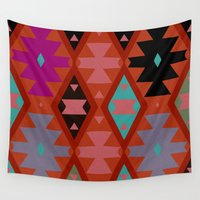 bohemian Wall Tapestries featuring bohemian by spinL
