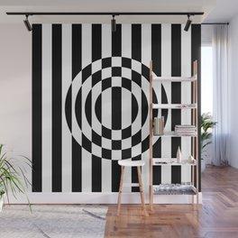 Hot Spot    Black & White Wall Mural