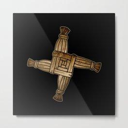 Saint Brigid's Cross Metal Print