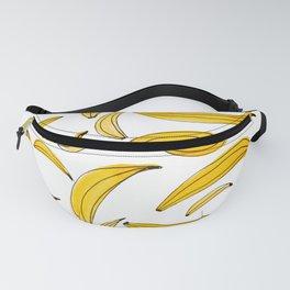 Watercolor bananas - yellow Fanny Pack