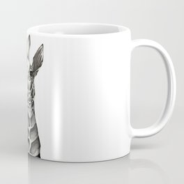 Giraffe Portrait Coffee Mug