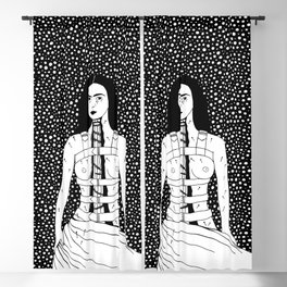 Frida Kahlo - Broken Column Blackout Curtain