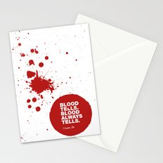 Dexter no.6 Stationery Cards