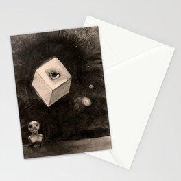 """Odilon Redon """"The Cube"""" Stationery Cards"""