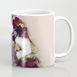 The girl with the flowers in her hair Coffee Mug