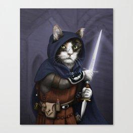 Rogue Cat Canvas Print