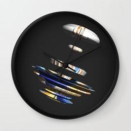 abstract 3 Wall Clock