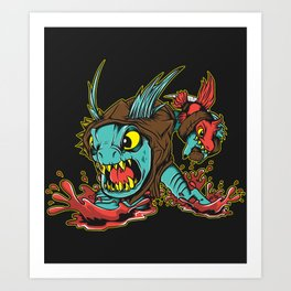 SLARKIE Art Print