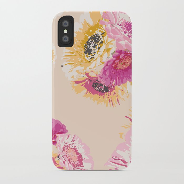 Gerbera Bouquet iPhone Case