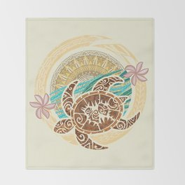 If We Tollerate This Eco Turtle Throw Blanket