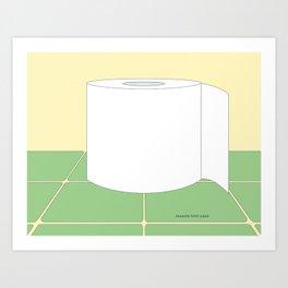 Reusable Toilet Paper Art Print