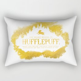 Hufflepuff Rectangular Pillow