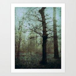 Un hiver Art Print